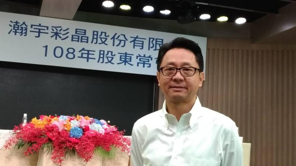 彩晶董事長焦佑麒。 記者張義宮/攝影