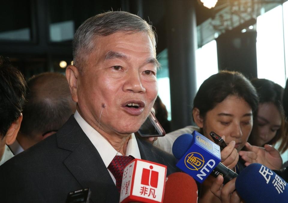 經濟部長沈榮津。記者林俊良/攝影