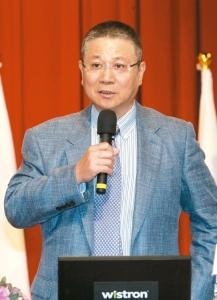 緯創董事長林憲銘。 圖/聯合報系資料照片