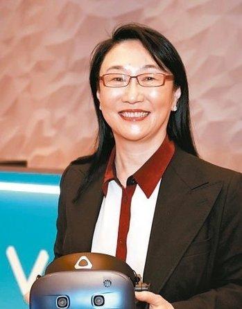 宏達電董事長王雪紅。 本報系資料庫