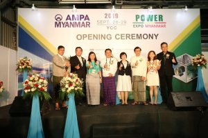 Cens.com News Picture Grand Opening of AMPA and Power EXPO Myanmar
