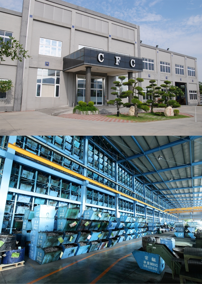 Chong Cheng Fastener Corp. is exceptionally proud of their factory`s exterior design and retrieval system. (photo courtesy of Chong Cheng Fastener Corp.)