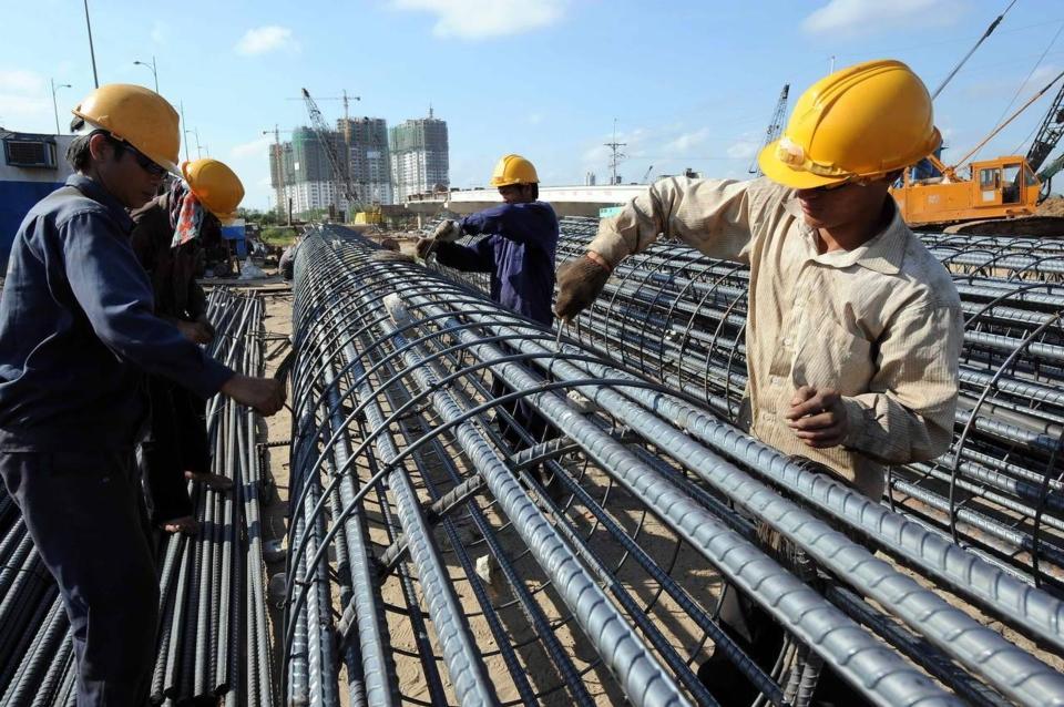 全球鋼市二○一九至二○二○年持續成長,印度與東協市場更是亮點。(法新社)