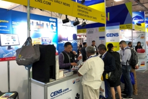 Economic Daily News' (CENS.com) Taiwan Transportation Equipment Guide (TTG) is popular among buyers at many of the trade shows CENS.com has attended. (Photo courtesy of TTG)