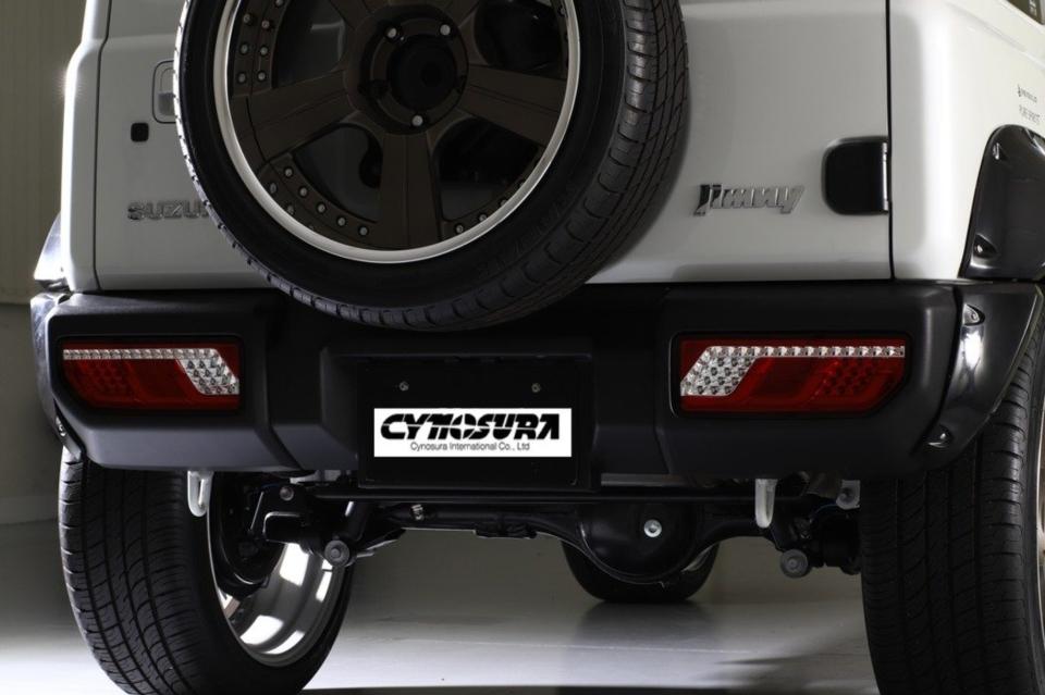 鈴木吉普車Jimny尾燈。 金宸國際開發/提供。