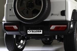 铃木吉普车Jimny尾灯。 金宸国际开发/提供。