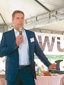 德国Würth集团全球采购与产品执行副总Thomas Klenk出席首次的台湾五金工具供应商盛会。 Würth集团/提供