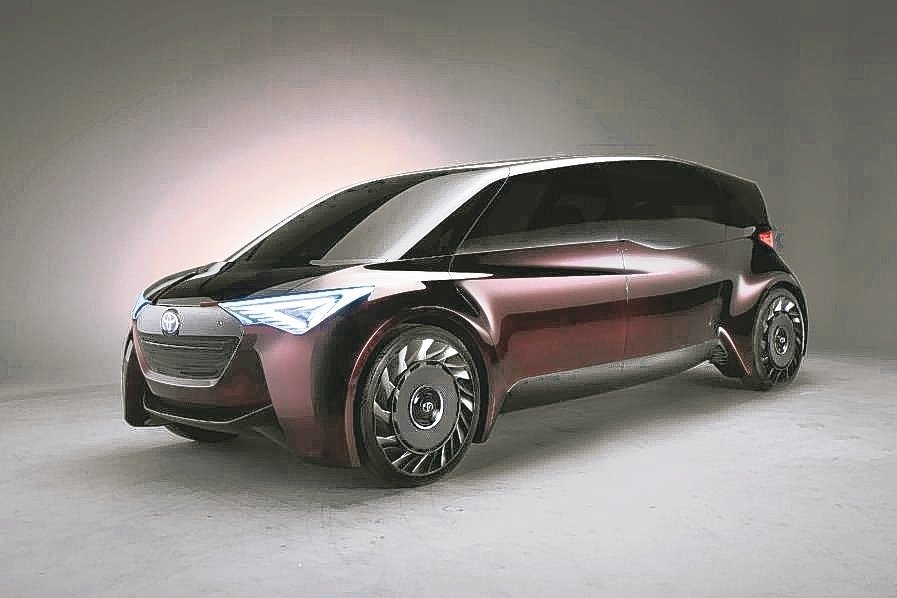 TOYOTA FINE-Comfort Ride Concept AI自動駕駛的氫燃料電池概念車。 和泰車/提供