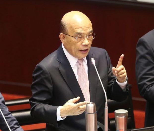 行政院長蘇貞昌表示,現在的台灣被大家看好,廠商用腳投票。圖/聯合報系資料照片
