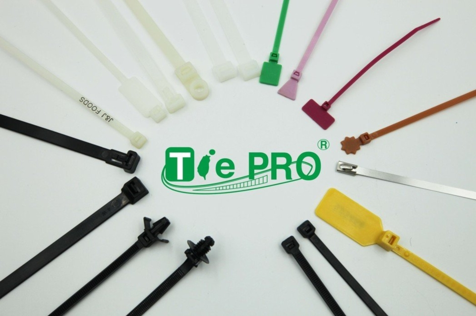 志信塑膠為台灣束帶專家TIE PRO-Taiwan。 志信塑膠/提供。
