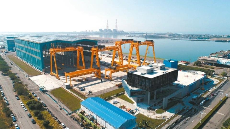 中鋼子公司興達海基12月27日竣工啟用。 中鋼/提供