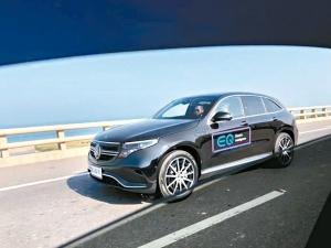 賓士電動車EQC將在台北車展中正式亮相。 台灣賓士/提供