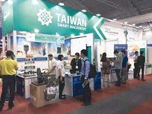 2019年舉行的泰國國際工具機展,貿協規劃以台灣館展出,協助台商爭取「泰國4.0」商機。 貿協/提供