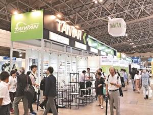 日本DIY Home Center展中,貿協規劃台灣館,協助參展廠商全力搶單。 貿協/提供