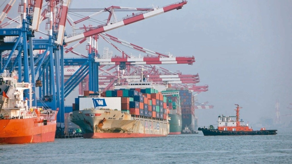 The exports in Dec 2019 with an increase of 0.9% (Photo courtesy of UDN)