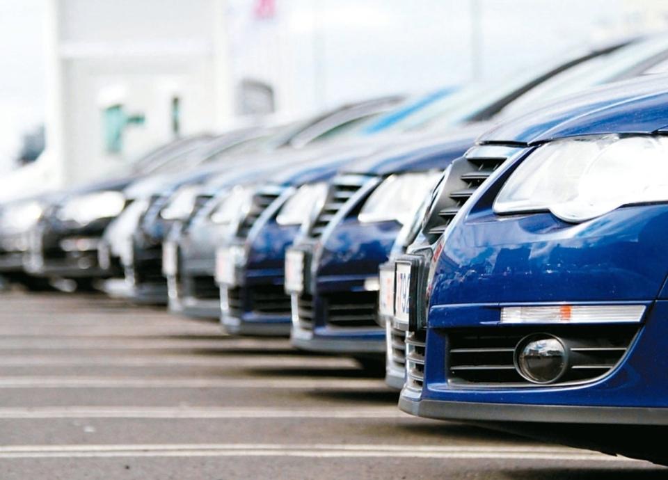 元月汽車銷售雖比去年同期下滑10.7%、較去年12月下滑14%,但買氣並不悲觀。 圖/聯合報系資料照片