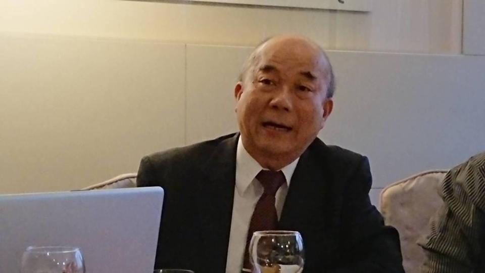 台灣機械公會理事長柯拔希認為武漢疫情對於產業的影響有限,依舊看好今年機械業景氣。 記者黃淑惠/攝影