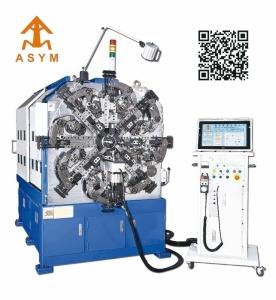 樹奕最新研發電腦數控彈簧成形機SY-640-CNC(SF)。 樹奕/提供