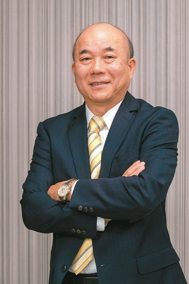 Alex Ko, the chairman of the Taiwan Machinery Association (photo courtesy of UDN)