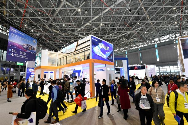 Tomorrow's Service & Mobility and Customizing sectors are popular among buyers (Photo courtesy of Messe Frankfurt (Shanghai) Co Ltd)