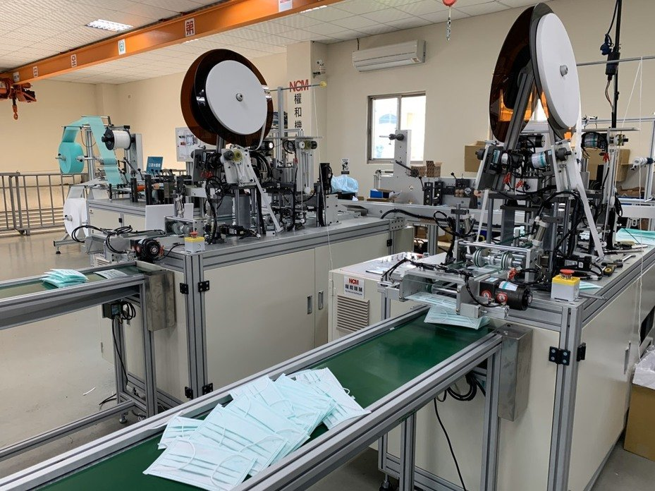 Taiwanese Machinery Exports Mask-Making Machines in August</h1>
