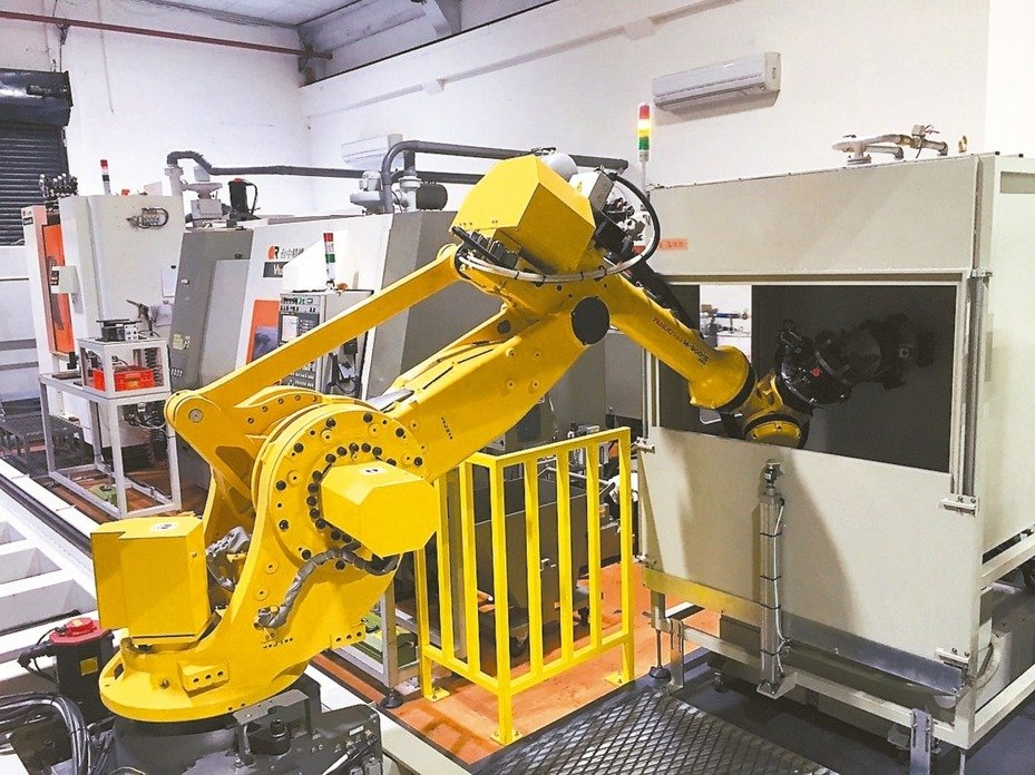 Machinery Orders only Reduced by 1%, according to the Ministry of Economic Affairs.(Photo courtesy of UDN)