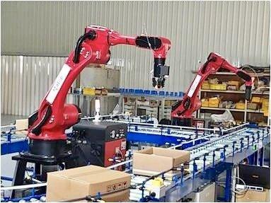 物流中心、自動倉庫自動化搬送設備。川岳機械提供