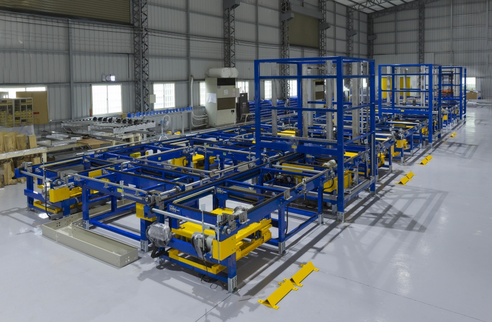 ASRS warehouse automation system