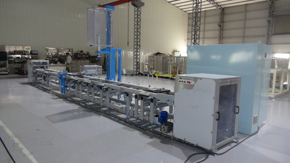 Pump Assembly line conveyo