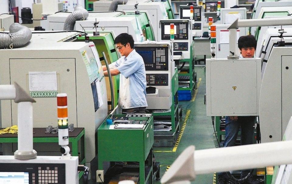 台灣機械產品前四月出口80.2億美元年減9.5%。 本報系資料庫