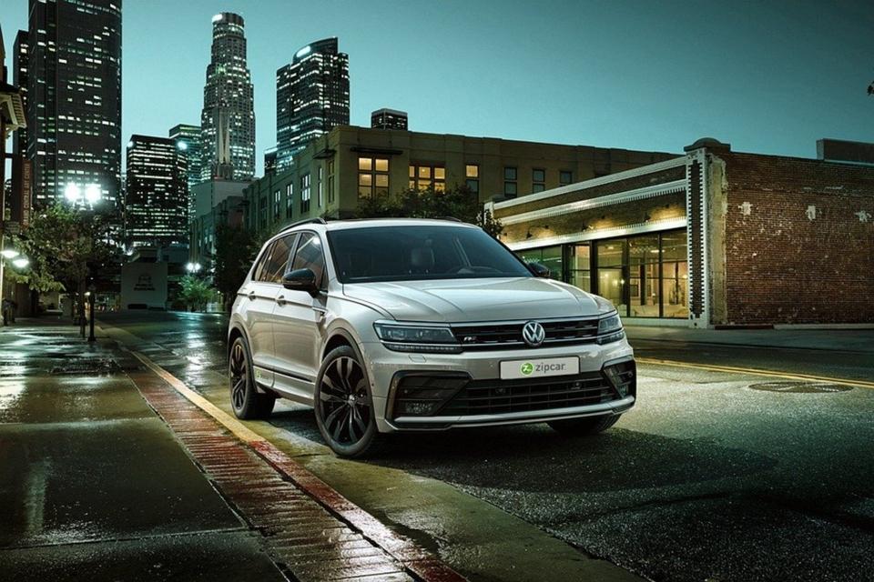 台灣福斯汽車與Zipcar以Polo靈巧五門掀背車、Golf主流經典掀背車、Tiguan運動休旅及Sharan正七人座MPV等車,滿足消費者各式的用車需求。 圖/台灣福斯汽車提供