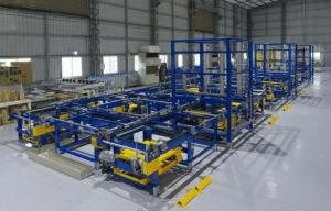 ASRS倉儲自動化系統。川岳/提供