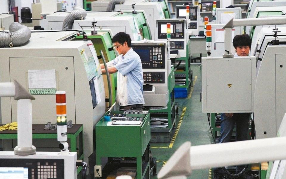 台灣機械公會昨天發布今年前五月機械設備出口值為103.1億美元,較去年同期減少8.4%,衰退幅度有逐步縮小趨勢。 (本報系資料庫)