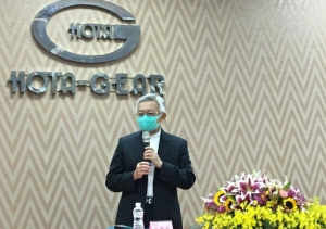 汽車傳動系統製造商和大在中科園區公司舉行股東會,董事長沈國榮親自主持。 中央社