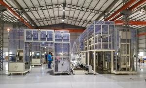 川岳主要從事工廠自動化輸送設備生產並提供客製化設計服務。經濟日報 記者宋健生/攝影
