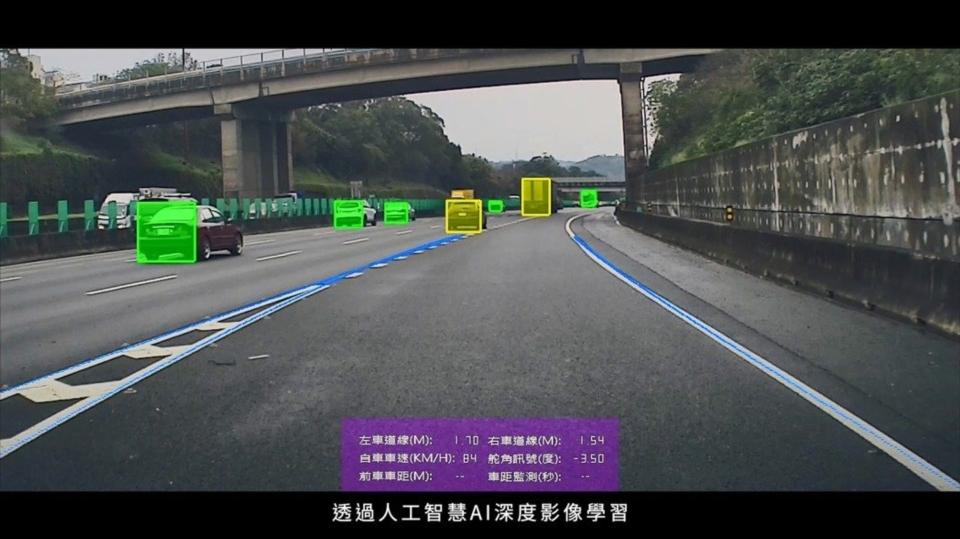 國研院國家高速網路與計算中心與歐特明電子合作,開發車用AI感知與辨識系統,讓車子「自己開去停」不再是夢想。(圖/國研院提供)