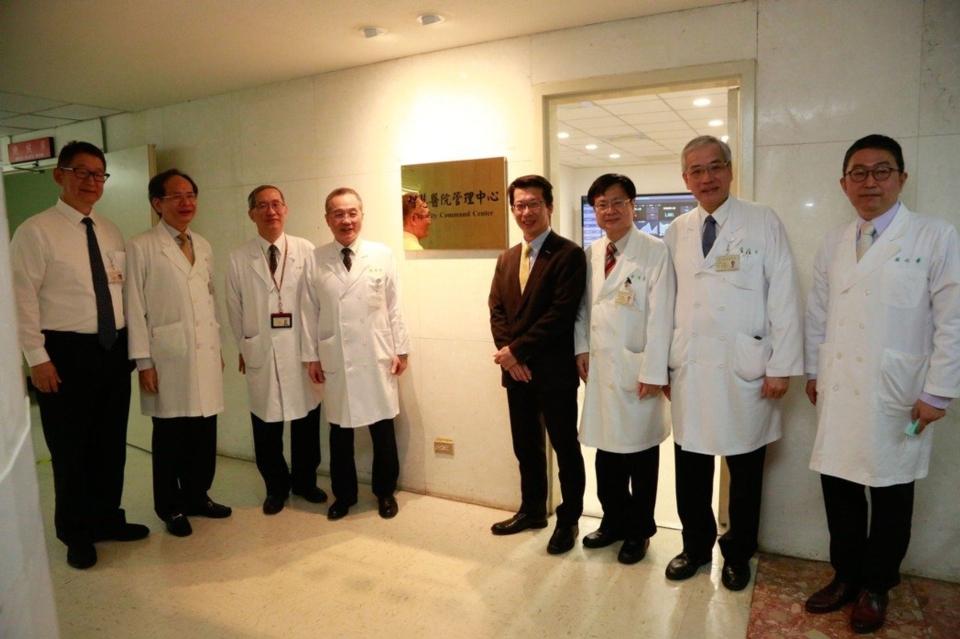 研華攜手臺北榮總打造智慧醫院管理中心。圖/研華提供