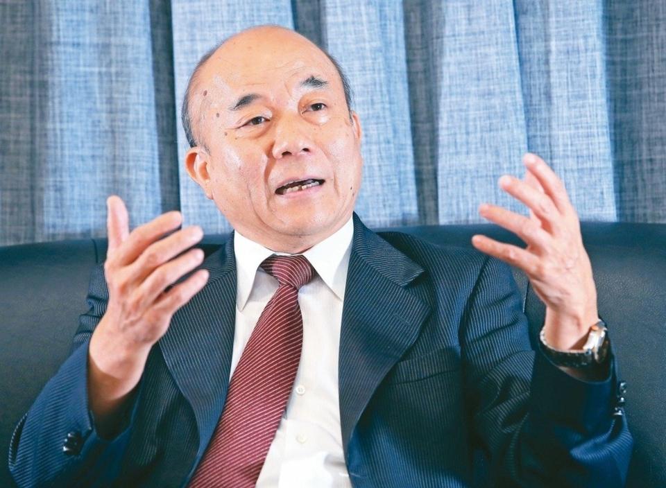 台灣機械公會理事長柯拔希 記者潘俊宏/攝影