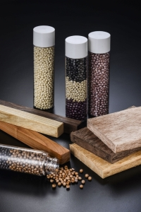 Wood-Imitation Pellets and Profiles (Photo courtesy of INTYPE)