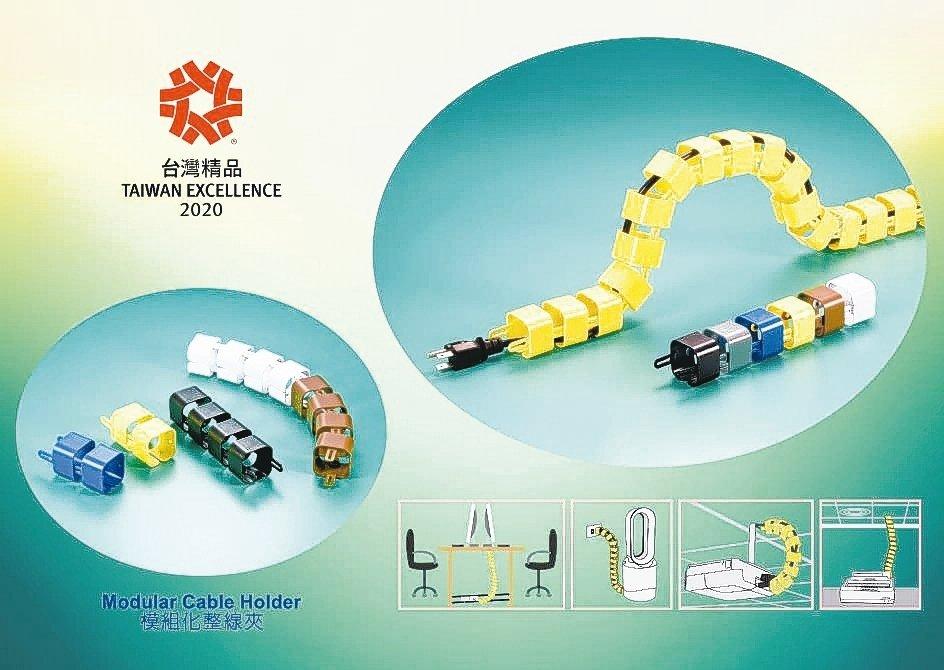 凱士士(KSS)公司模組化整線夾榮獲2020年「台灣精品獎」殊榮肯定。