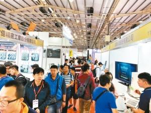 「2020台中自動化工業展」,今年邁入第41屆,是解封後中部首檔大型專業展。黃奇鐘/攝影