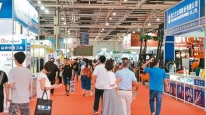 2020台中自動化工業展開展首日即吸引參觀人潮到場參觀。經濟日報 記者戴辰/攝影