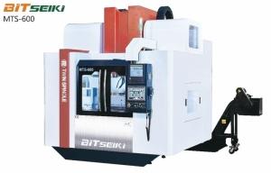 百正創新科技雙主軸、雙刀庫立式加工中心機MTS-600。百正/提供