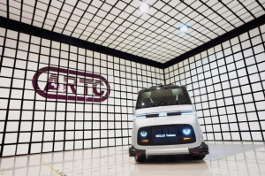 ARTC Unveils Taiwan's 1st Homegrown Self-driving Electric Minibus (Photo courtesy of ARTC)