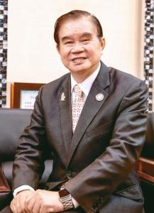 富偉科技集團(FORWELL)總裁蕭文龍。富偉科技集團/提供