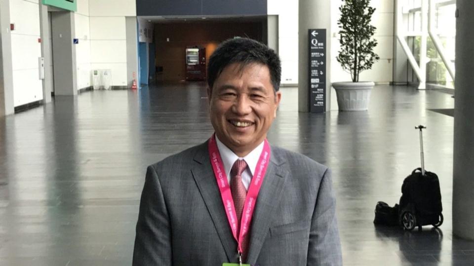 友達董事長彭双浪2日以台北市電腦公會理事長身分,出席「2020 智慧城市線上展開幕暨頒獎典禮」,看旺面板需求樂觀,2021年將持續將IT產能拉到最大。記者蔡銘仁/攝影