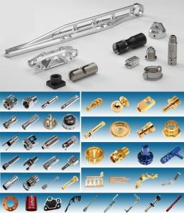 禾桐生产的五金、汽机车、机械零件精密制品。