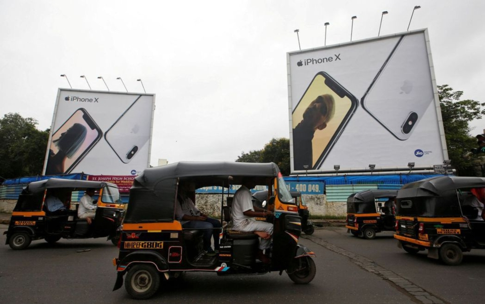 印度對外國企業開放手機生產獎勵五個名額的申請案中,台廠包辦其中四個。(路透)