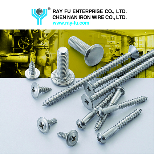 Stainless Steel Screws, provides by Ray Fu Enterprise Co., Ltd.