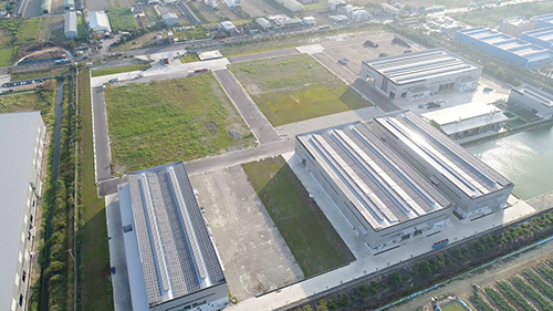 Aerial shot of Ray Fu new facility, covers an area of 138 thousands square meters which will provides customers better services.